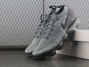 58f576a1c0f15 NEW NIKE AIR VAPORMAX FLYKNIT 2.0 DARK GREY 942842 002 ALL SIZES ...