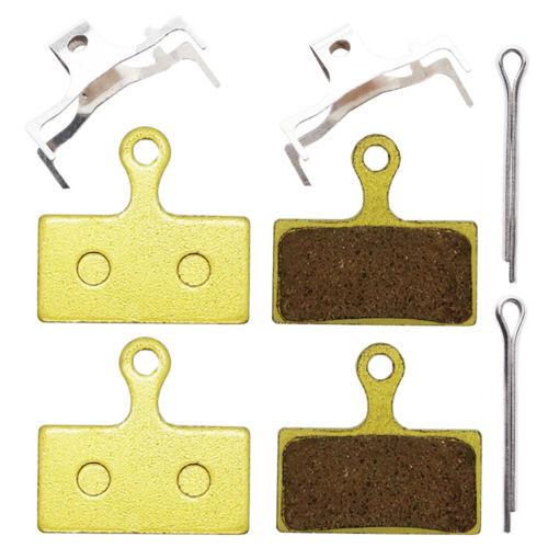2 Pairs Metal Sintered Disc Brake Pads for Shimano  M615 M675 Deore XT G01S
