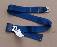 92 93 94 95 96 FORD F150 BRONCO 97 F250 F350 BENCH MIDDLE LAP SEATBELT BLUE