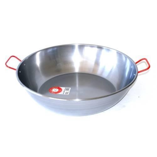 LA IDEAL Poêle à paella creuse 60 cm 70 parts A17-1629