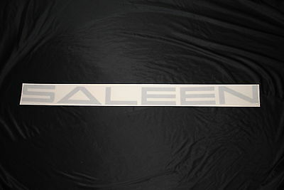 Mustang Windshield Banner 05-08 SILVER