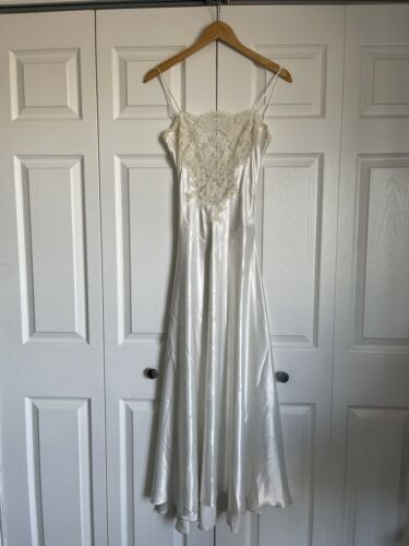 Diane Samandi by Jonquil Babydoll Nightgown Designer Unworn Medium