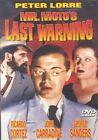 Mr. Moto's Last Warning 0089218627490 With Joan Carroll DVD Region 1
