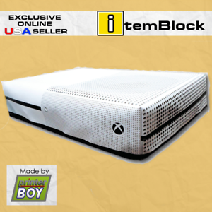 XBox-One-S-White-Console-System-Dust-Cover-Exclusive-eBay-US-Seller