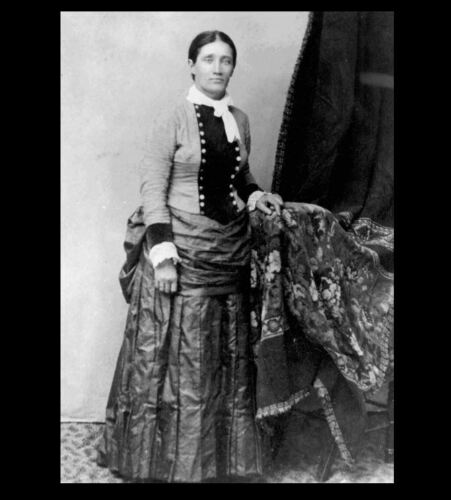 Buffalo Bill Wild West Show,Wild Bill Hickok Pal 1884 Calamity Jane Dress PHOTO
