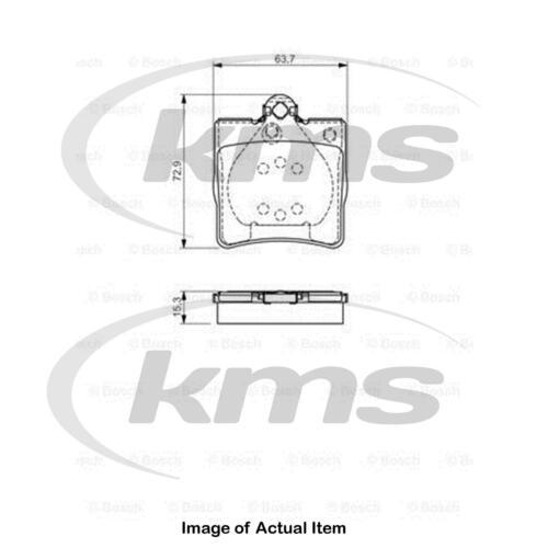 New Genuine BOSCH Brake Pad Set 0 986 495 080 Top German Quality