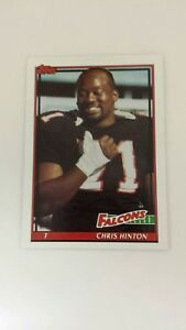 CHRIS-HINTON-1991-TOPPS-FOOTBALL-Card-569-C0840