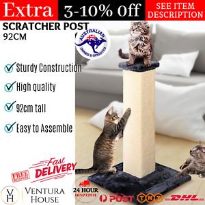 i.Pet Cat Tree Trees Scratching Post Scratcher Tower 92cm Wood Scratch Furniture