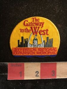 St-Louis-Missouri-JEFFERSON-NATIONAL-EXPANSION-MEMORIAL-Patch-98II