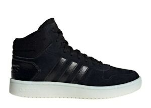 Adidas-HOOPS-MID-2-0-EE7893-Nero-Scarpe-Donna-Bambino-Sneakers-Ginnastica