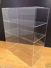 Ds Acrylic Countertop Display Case 16 X 8 X 19 Showcase Cabinet Shelves