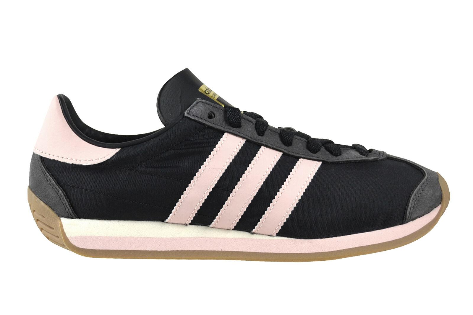 Adidas Pays Og Femmes Noir Rose gum4 Chaussures Noir S32203