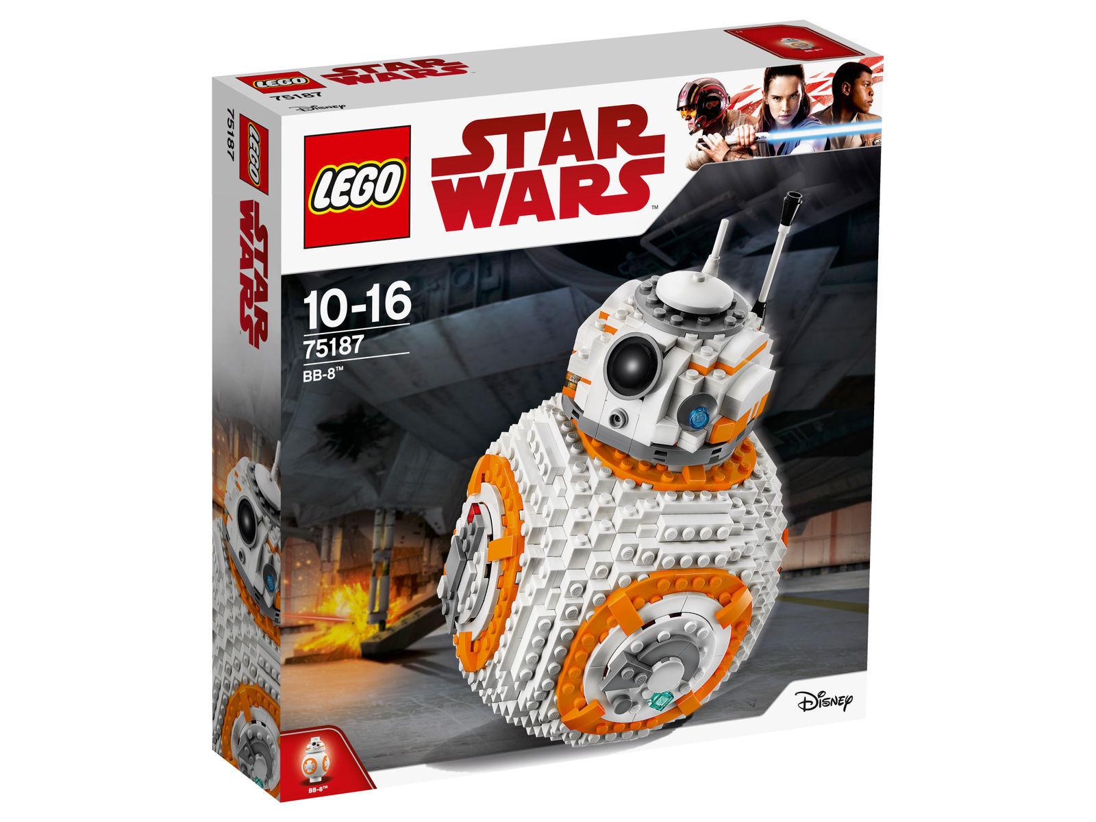 Lego Star Wars 75187-bb-8 - Neuf dans la neuf dans sa boîte