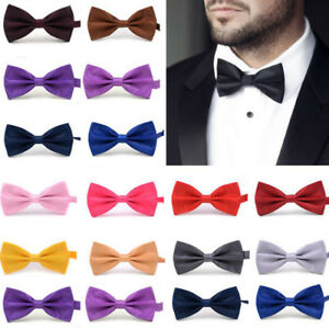 a1d4c421c6f9 Classic Bow tie Adjustable Bowtie for Men Tuxedo Bow Ties Formal ...