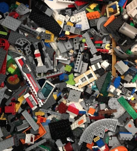 LEGOS LEGO by the Pound 5 lbs of Legos Assorted Pieces 5lbs LEGOS LEGO