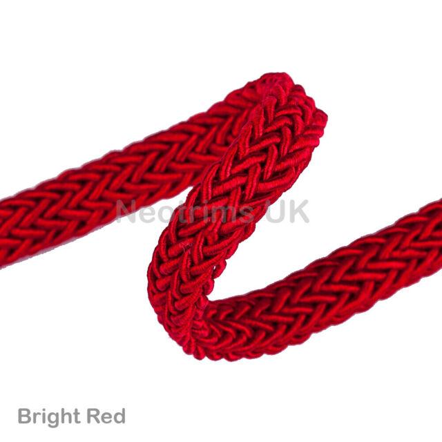 Neotrims 2mm Satin Rat Rats Tail Cord Rope Ribbon 22 Colours Value Gift Box Mix