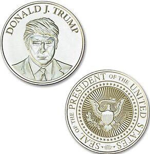 Presidential Seal Donald Trump 1 Oz 999 Silver Coin Make