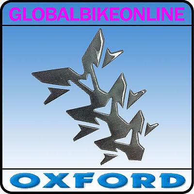Oxford Motorbike Motorcycle Gel Spine Invader Tank Paintwork Protector Carbon