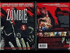 3 Zombi DVD Lot: Zombi 3 Zombi 4: After Death & Zombi 5: Killing Birds-Brand New