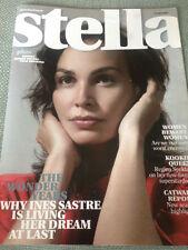 INES SASTRE PHOTO INTERVIEW STELLA MAGAZINE AUGUST 2007 REGINA SPEKTOR