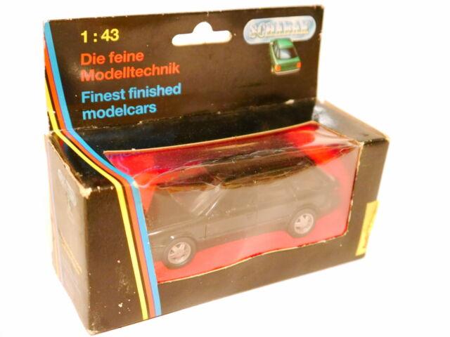 Audi 100 C4 Avant Kombi break schwarz negro noir nero black Schabak 1:43 LASCHE!