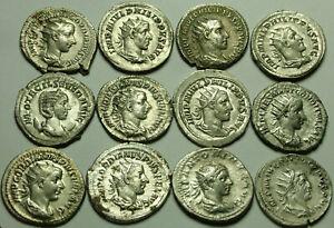 1 genuine Ancient Roman SILVER Superb Antoninianus, Philip/Trajan Decius/Gordian