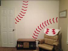 Baseball Stitches Wall Decal Vinyl Sticker Bedroom Boy Kids