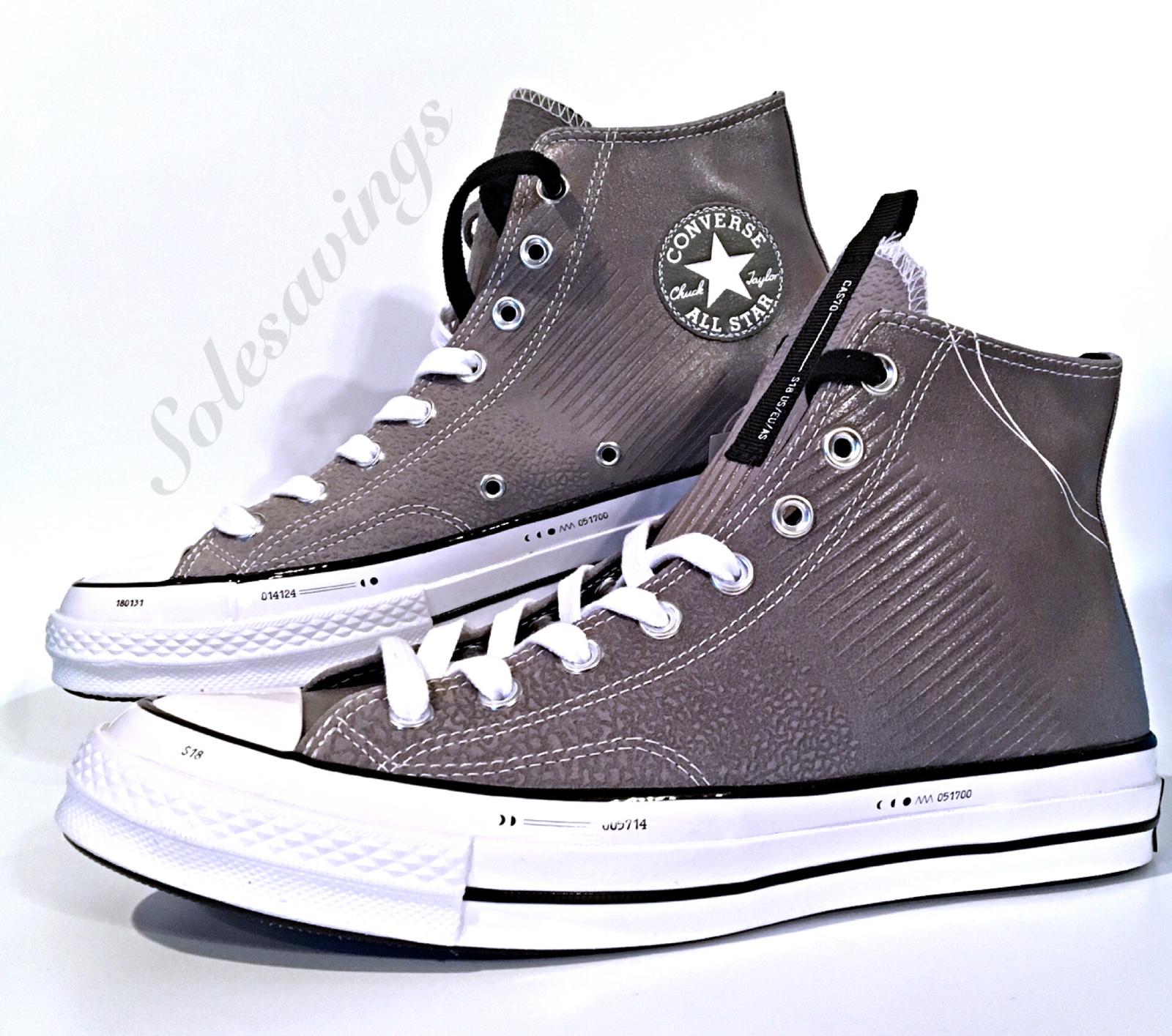 Converse Chuck Taylor All Star 70 Hi Lunar Eclipse grigio Mens scarpe Sz 160338C