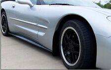 C5 Corvette ZR1 Style Pre-Painted or Carbon Fiber Finish Side Skirts