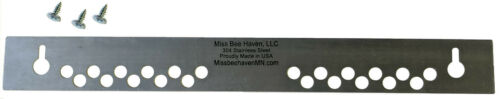 10 Frame Beehive Beekeeping Mouse Gaurd made in USA Stainless Steel