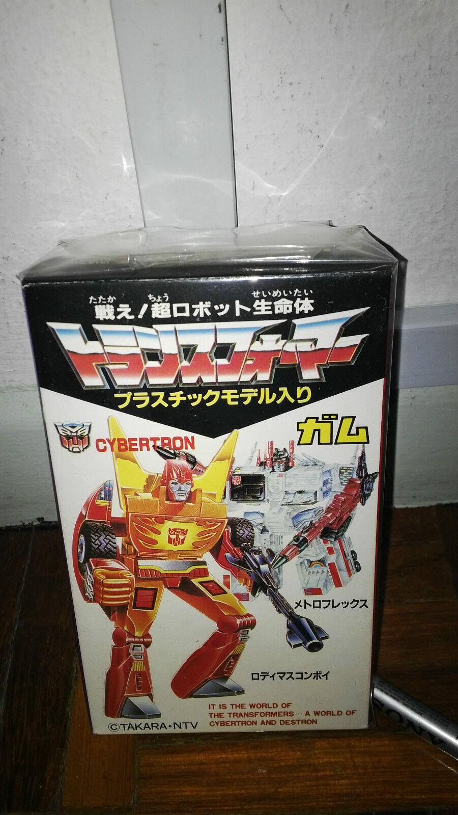 Transformers G1 Kabaya Rodimus Prime Sealed New AFA bluee Authentic New