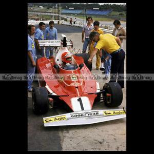 #pha.015745 Photo NIKI LAUDA FERRARI GP F1 KYALAMI 1976 Car Auto 142GBmsu-09093956-887647090