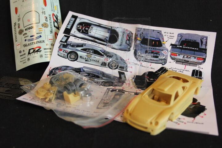 Provence Moulage Kit Mercedes-Benz CLK-GTR 1997 1 43 FIA GT (JS)
