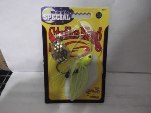 Strike King Spinnerbait 7//16th oz Midnight Special MS716-1G