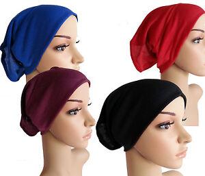 Top-Quality-TUBE-UNDERSCARF-Tube-Hijab-Chemo-Under-Scarf-Bonnet-Abaya-Hijab