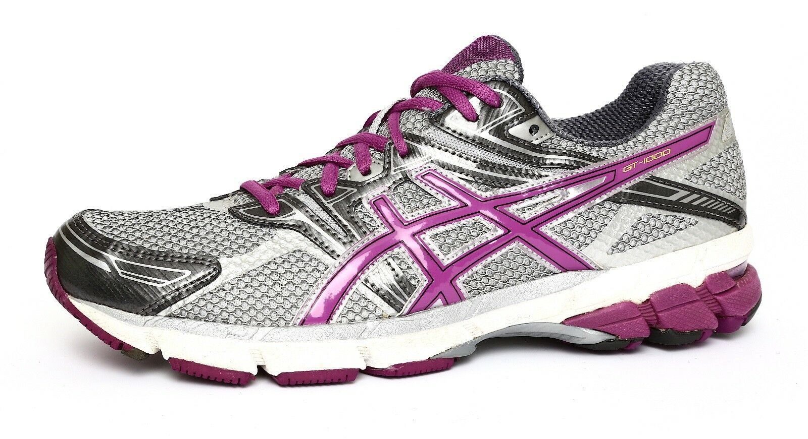 Asics GT-1000 Women's Gel Grey Running Sneaker Sz 9.5 1055 New shoes for men and women, limited time discount