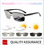 Mens-Photochromic-Sunglasses-Polarized-Transition-Lens-Outdoor-Driving-Glasses thumbnail 1