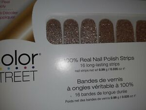 Color Street Nail Strips Chelsea Ya Later Ebay