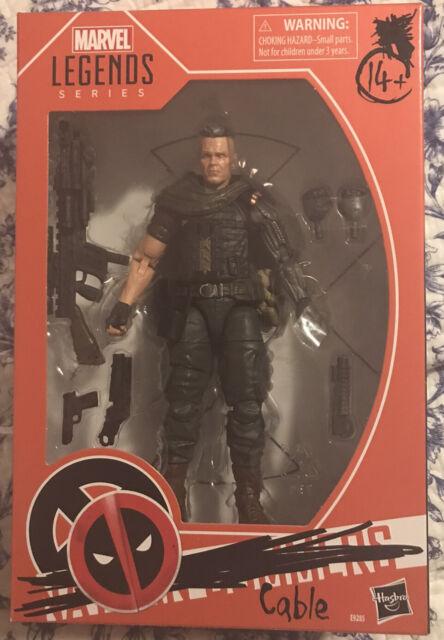 In Hand - Marvel Legends Cable Deadpool 2 Movie X-Men Walmart Exclusive Figure