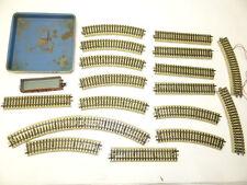 Vintage Lot Used Merklin Made in Germany Metal Toy Train Tracks Plate Parts
