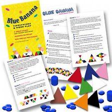 Azul Banana Tiddlywinks y juego de palabras Games Paquete (Children's Fiestas)