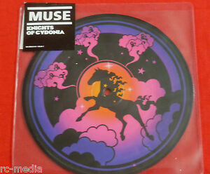 MUSE-Knights-Of-Cydonia-Rare-UK-Vinyl-7-034-Picture-Disc-Sticker-sealed-Vinyl