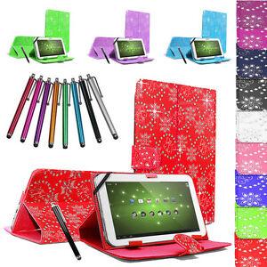 Universal-Kindle-Tablet-Diamond-Sparkle-Custodia-Cover-per-tutti-i-10-034-10-1-034-9-6-034-9-7-034