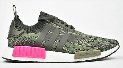Adidas Original Nmd R1 Packung Primeknit Boost Schuhe Camo Pink BZ0222 Herren 11 | eBay