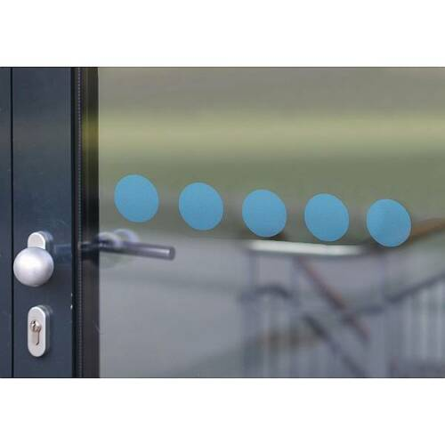 40x40mm Glas-Auflaufschutz aus Glitzerfrostfolie 12 Quadrate auf 1000 mm
