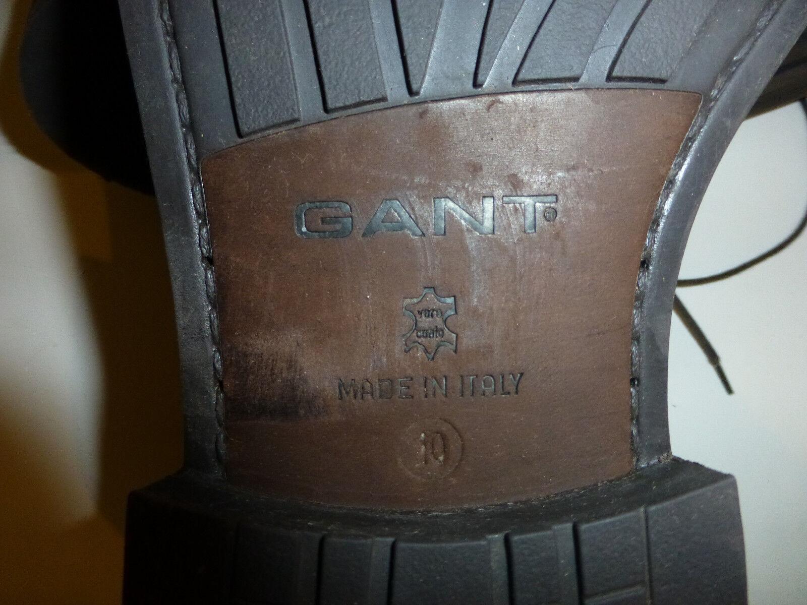 Klassische Herren Stiefelette von hellbraun Wildleder Gr. 10 von Stiefelette Gant U.S.A. 374f43