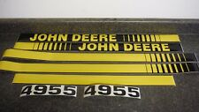 John Deere 4955 Tractor Decals Hood Amp Numbers Only See Details Amp Pictures