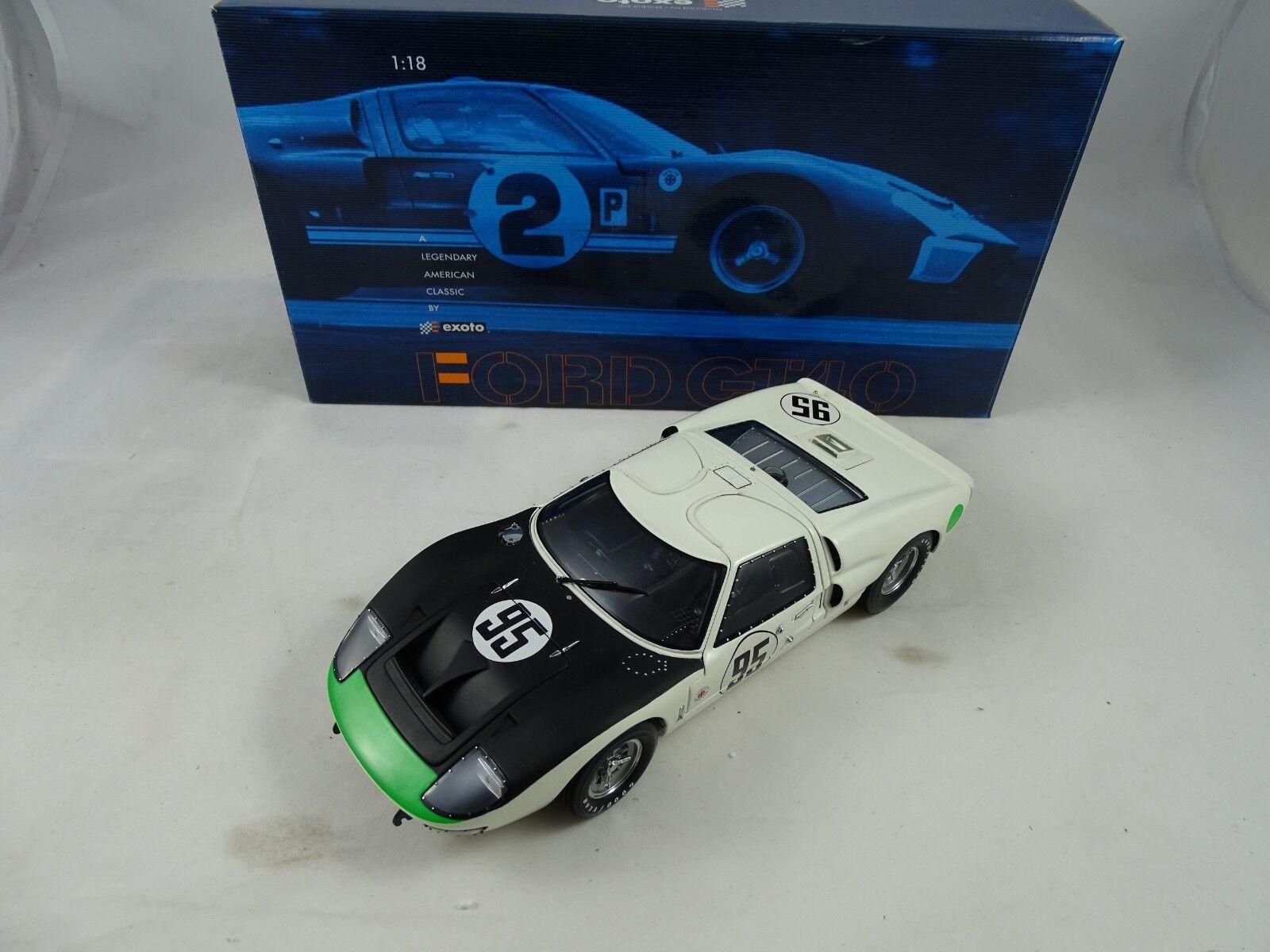 1 18 Exoto Ford Shelby Gt40 Mk 11 Daytona 24 H Hansgen Don