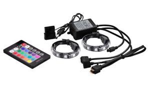 Details about Deepcool RGB 350 Magnetic LED Light Strips (2x50cm) Remote  Asus Aura Sync