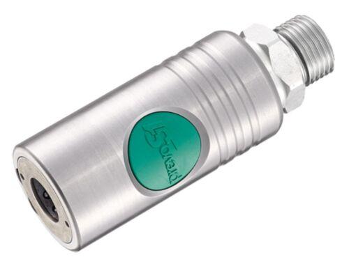 Knopf Sicherheits-Druckluftkupplung Prevo S1 NW10 Druckknopf-Enlüftungskupplung